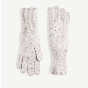 Ann Taylor cashmere knit gloves